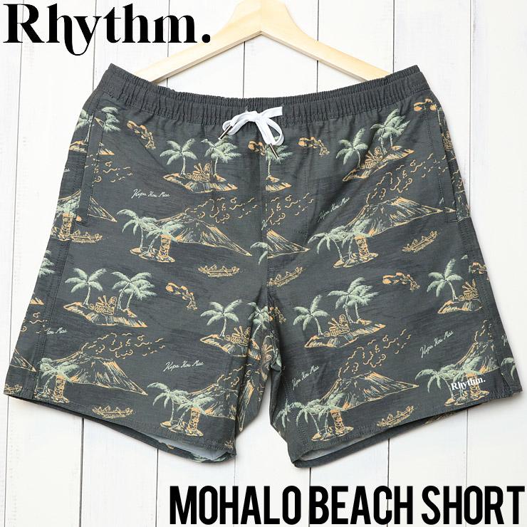 [クリックポスト対応] Rhythm リズム MAHALO BEACH SHORT ハーフパンツ JAN19M-JM07