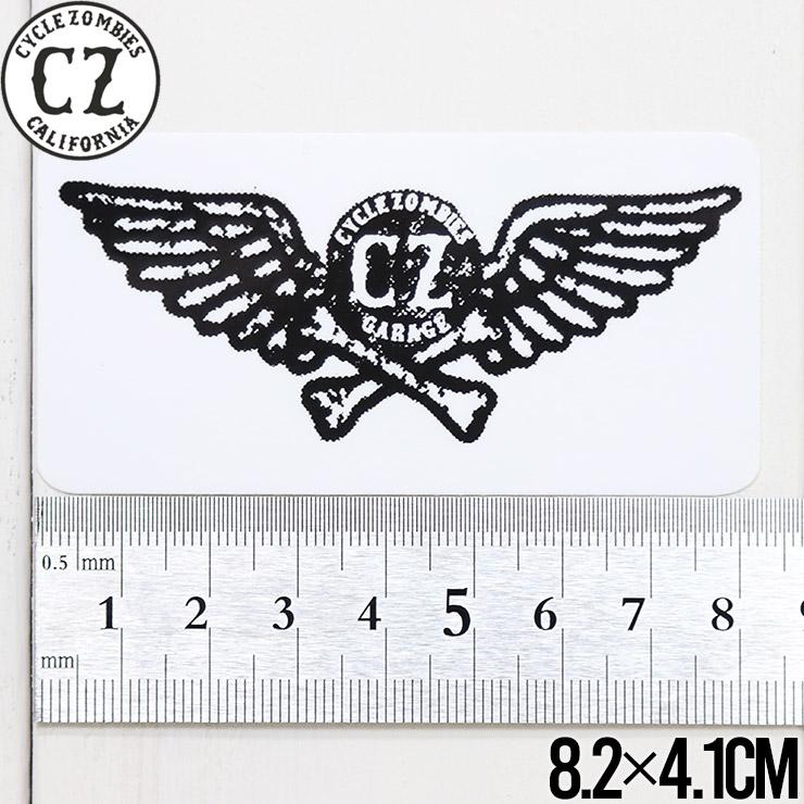[クリックポスト対応] Cycle Zombies サイクルゾンビーズ CZ STICKER ステッカー CZ-STK-001 #13