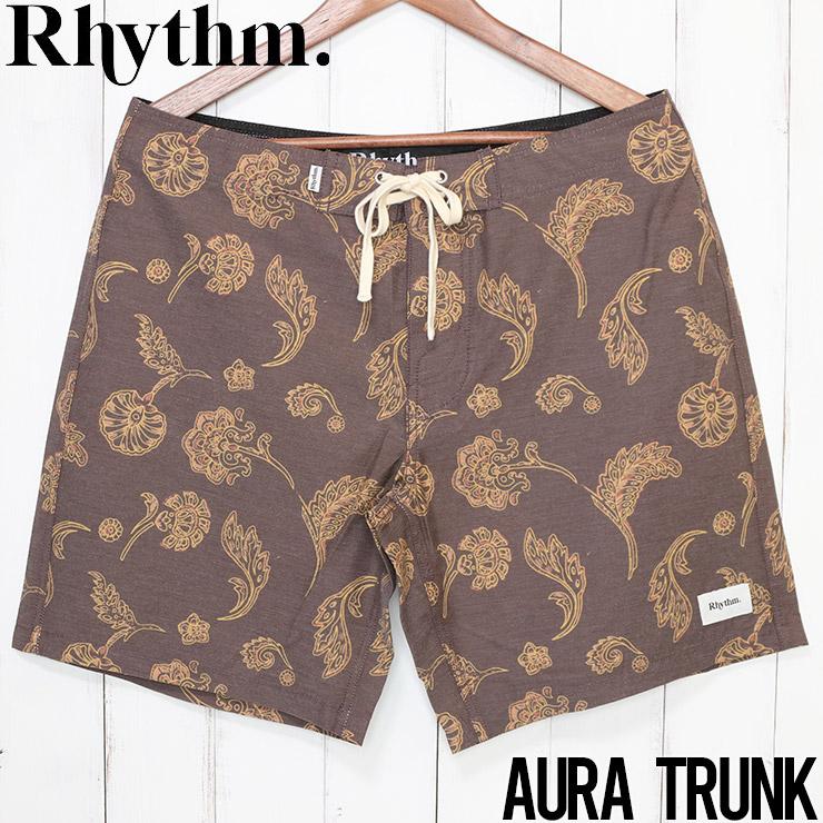 [クリックポスト対応] Rhythm リズム AURA TRUNK ボードショーツ APR20M-TR09
