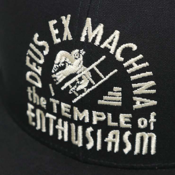 DEUS EX MACHINA デウスエクスマキナ CANGGU TEMPLE CAP スナップバックキャップ DMP77503B