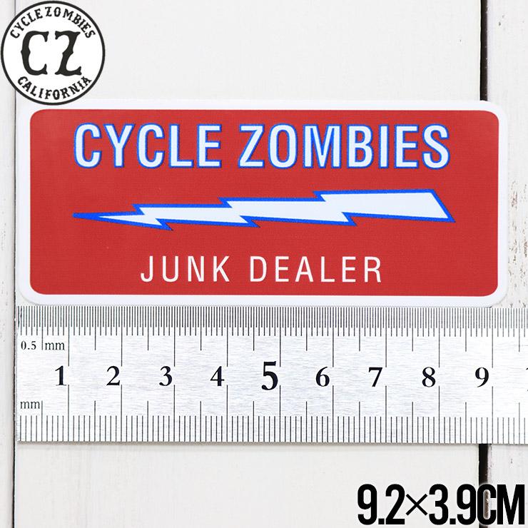 [クリックポスト対応] Cycle Zombies サイクルゾンビーズ CZ STICKER ステッカー CZ-STK-001 #14