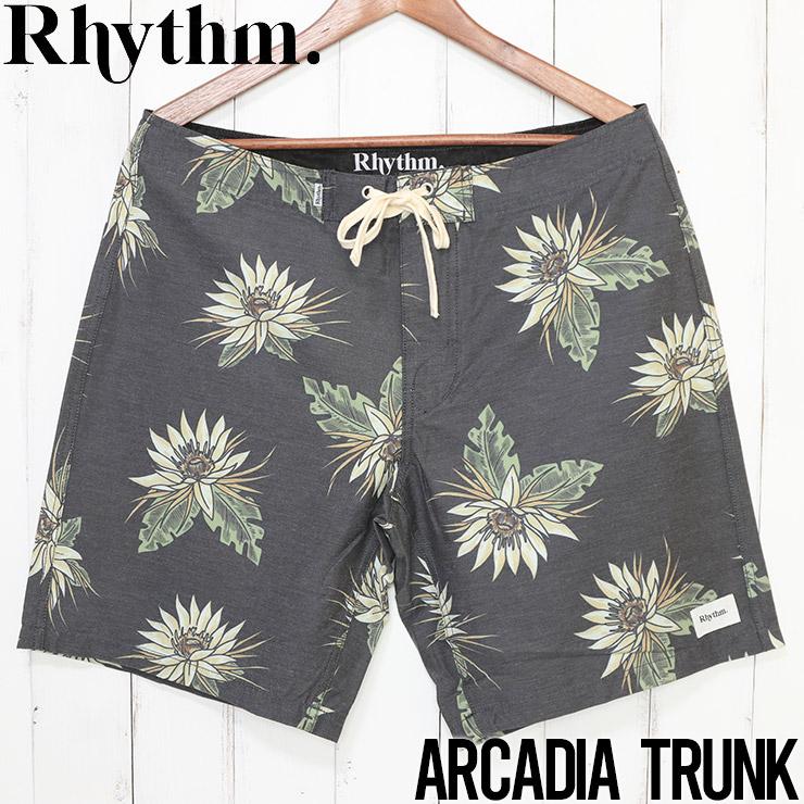 [クリックポスト対応] Rhythm リズム ARCADIA TRUNK ボードショーツ APR20M-TR10
