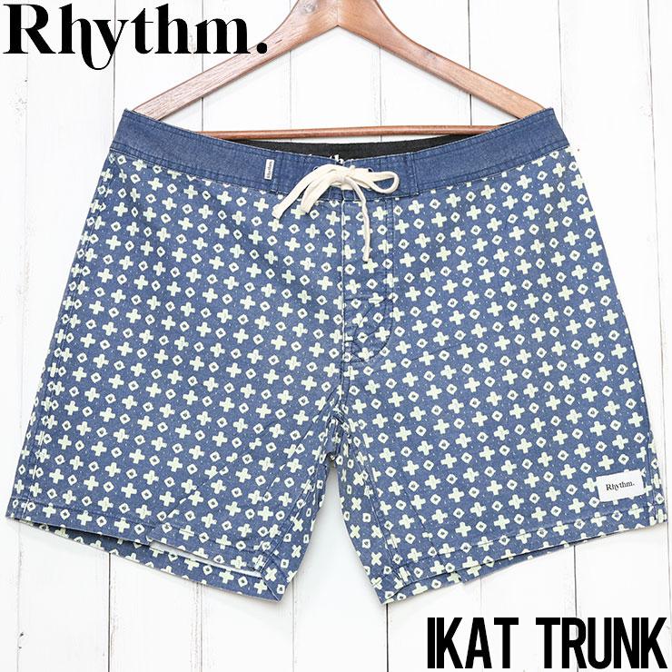 [クリックポスト対応] Rhythm リズム IKAT TRUNK ボードショーツ APR20M-TR05