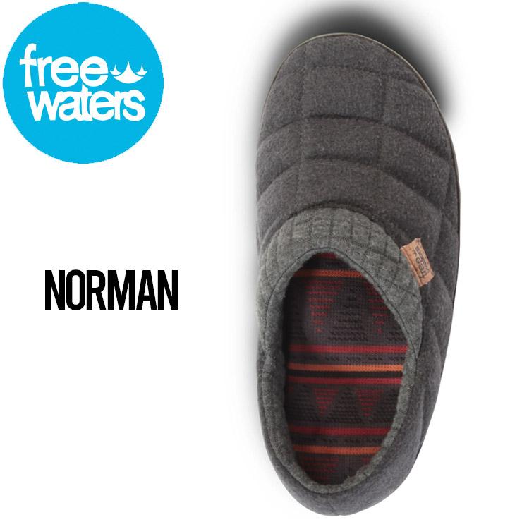 freewaters フリーウォータース NORMAN (MEN'S) サンダル ルームシューズ キャンプシューズ FW20FMC44