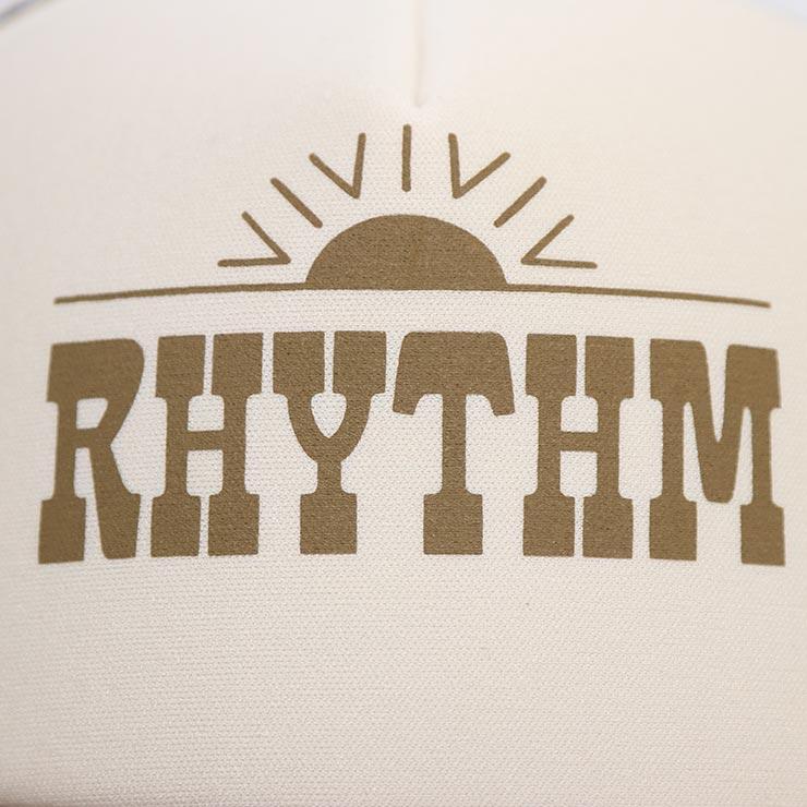 【送料無料】 Rhythm リズム WESTERN TRUCKER CAP メッシュキャップ 0121M-HW10