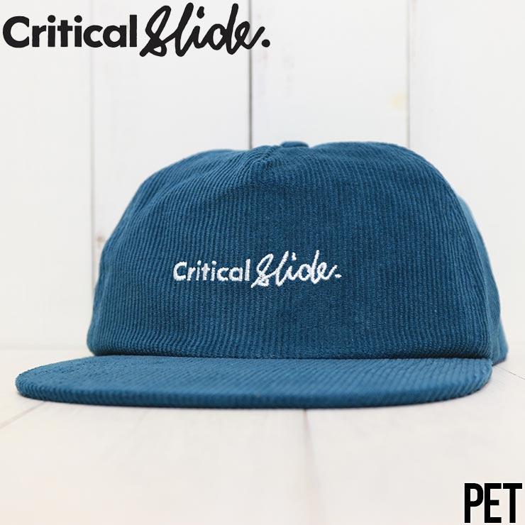 【送料無料】 Critical Slide クリティカルスライド TCSS ティーシーエスエス INSTITUTE CAP コーデュロイキャップ スナップバックキャップ HW2012