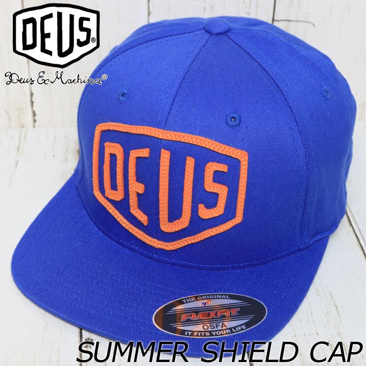 DEUS EX MACHINA デウスエクスマキナ SUMMER SHIELD CAP フレックスフィットキャップ DMS57535