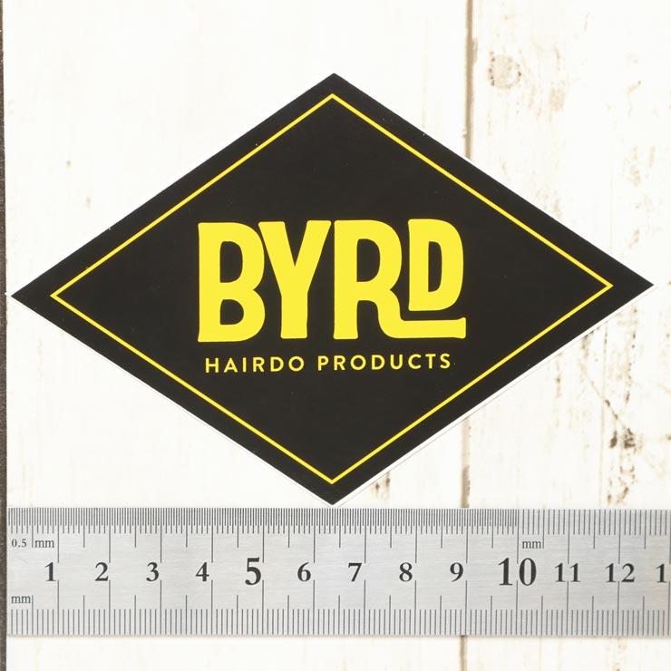 [クリックポスト対応] BYRD バード BYRD HAIRDO PRODUCTS RHOMBUS STICKER ステッカー 2097008