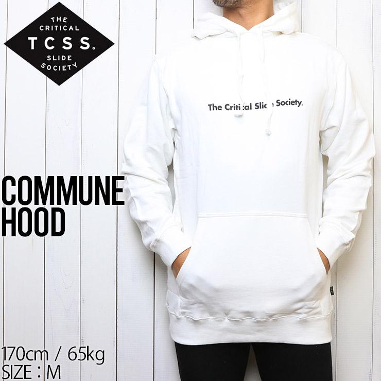 TCSS ティーシーエスエス COMMUNE HOOD プルオーバーパーカー The Critical Slide Society FC1808