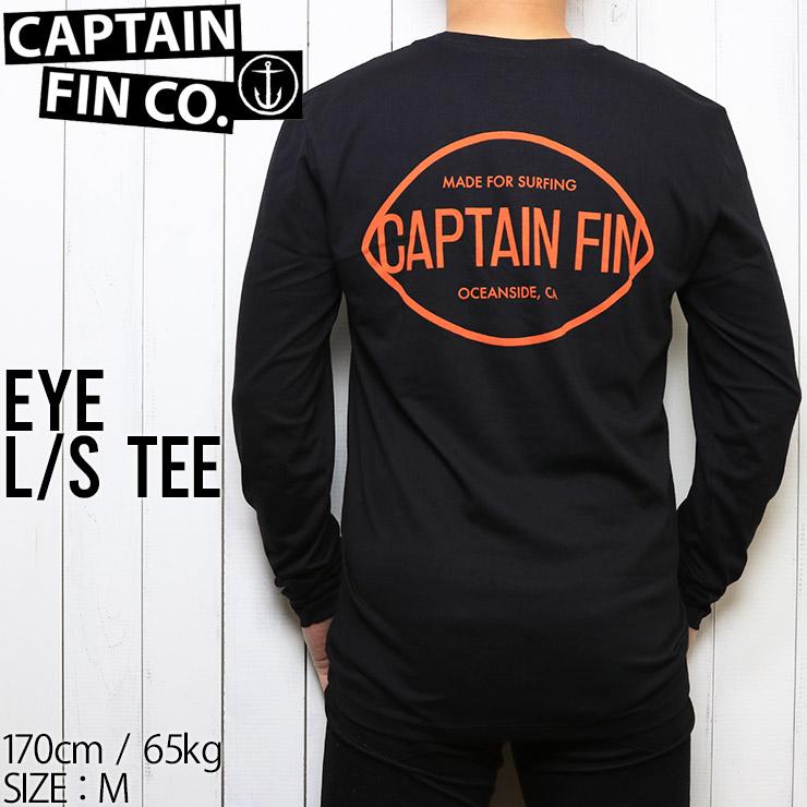 [クリックポスト対応] CAPTAIN FIN キャプテンフィン EYE L/S TEE ロングスリーブTEE CT193014
