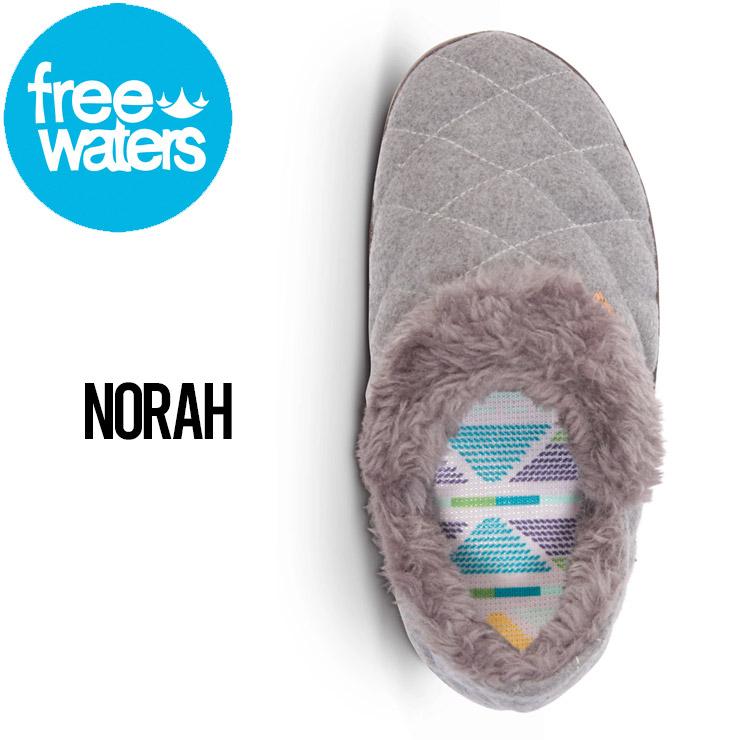 freewaters フリーウォータース NORAH (WOMEN'S) サンダル ルームシューズ キャンプシューズ FW20FWC36