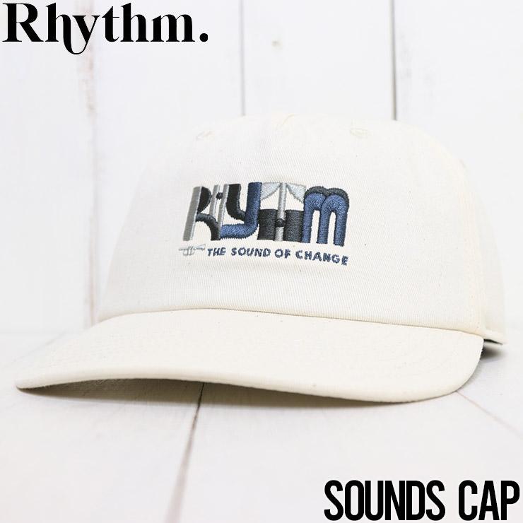 【送料無料】 Rhythm リズム SOUNDS CAP ストラップバックキャップ 0121M-HW06 [FB]