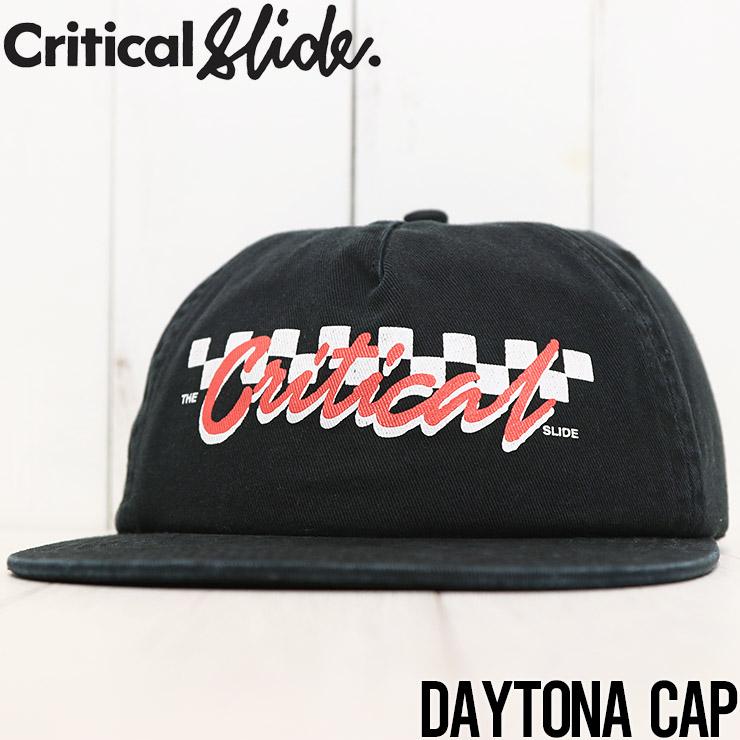 【送料無料】 Critical Slide クリティカルスライド TCSS ティーシーエスエス DAYTONA CAP ストラップバックキャップ HW2105