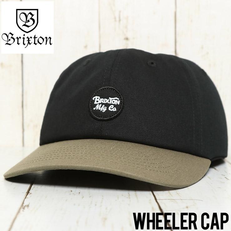 BRIXTON ブリクストン WHEELER STRAPBACK CAP ストラップバックキャップ 00424 BDRKH