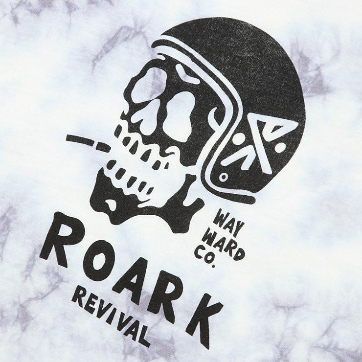 [クリックポスト対応] THE ROARK REVIVAL ロアークリバイバル DEAD HEAD L/S TIE DYE TEE ロンT RT463