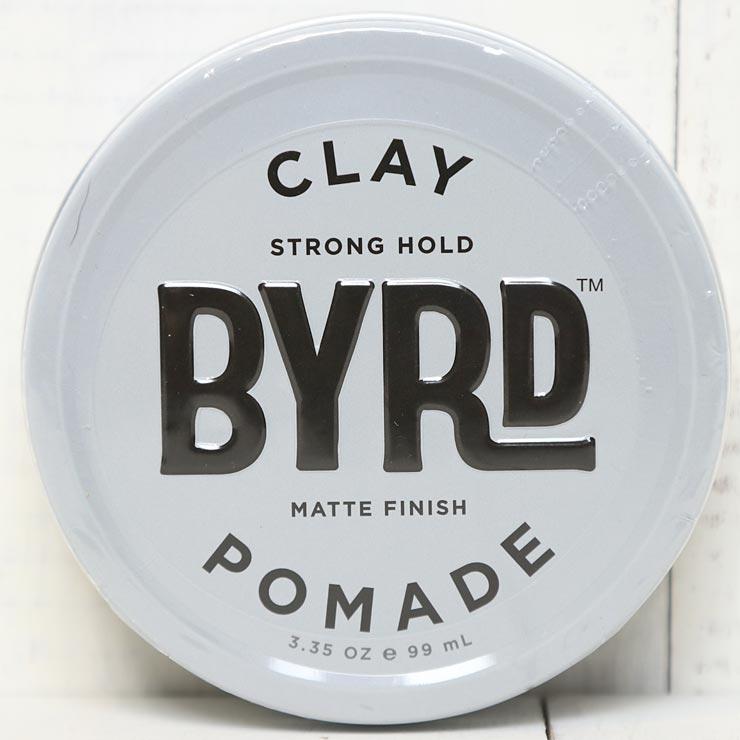 [クリックポスト対応] BYRD バード CLAY POMADE 3.35oz 99g クレイポマード