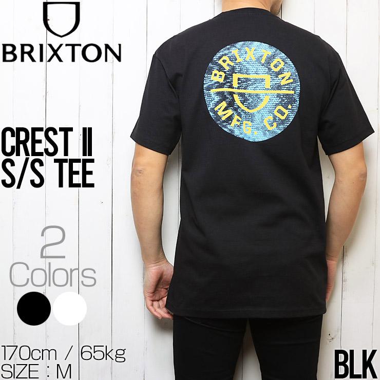 [クリックポスト対応] BRIXTON ブリクストン CREST II S/S TEE 半袖Tシャツ 半袖TEE 16493