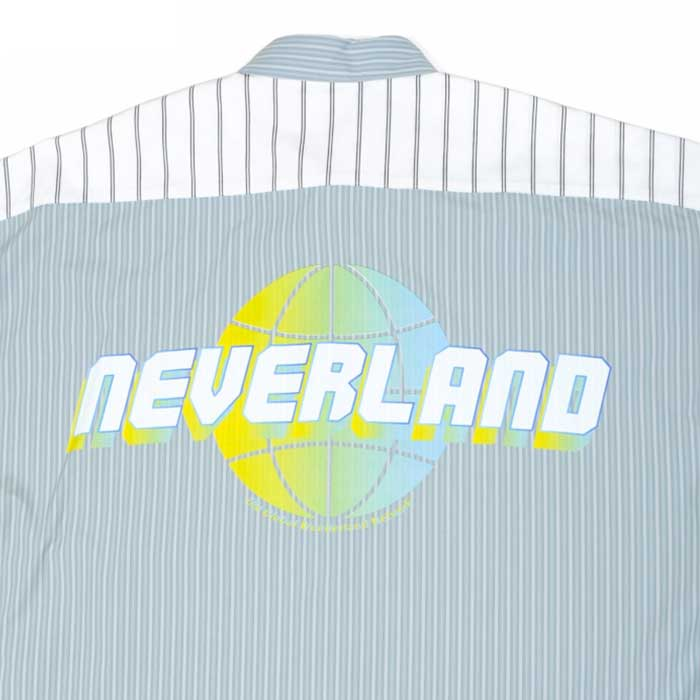 LAND by MILKBOY(ランドバイミルクボーイ) NEVER LAND ストライプド シャツ