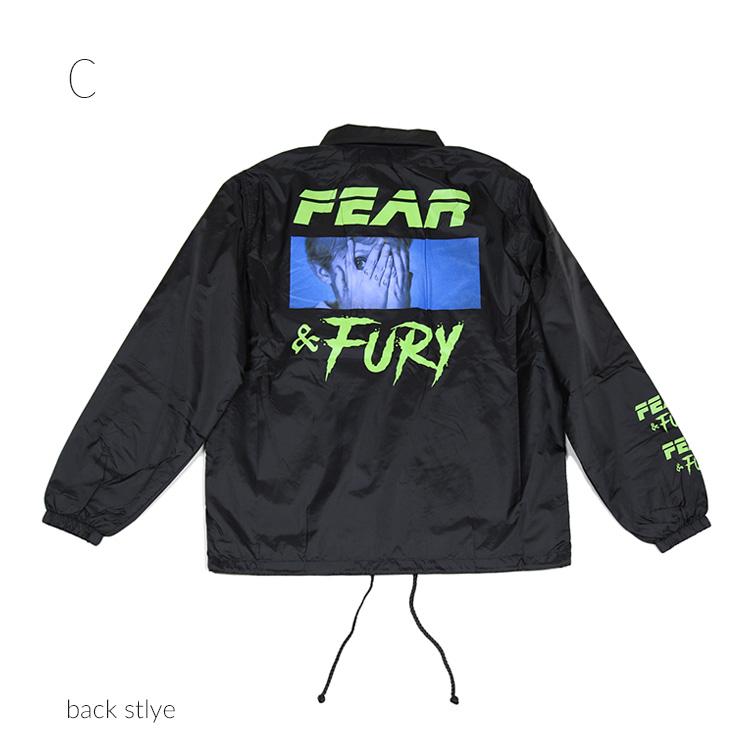 MILKBOY(ミルクボーイ) FEAR COACH ジャケット