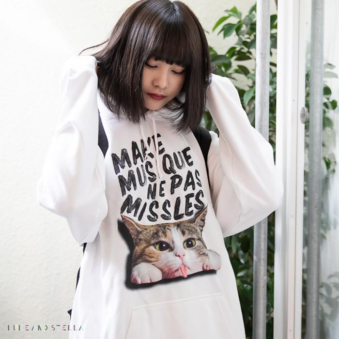 【ルーク限定】MILKBOY(ミルクボーイ)×REPUBLIC WONDER(リパブリックワンダー)×Luke and Stella(ルークアンドステラ) NO Missiles Cat PARKA