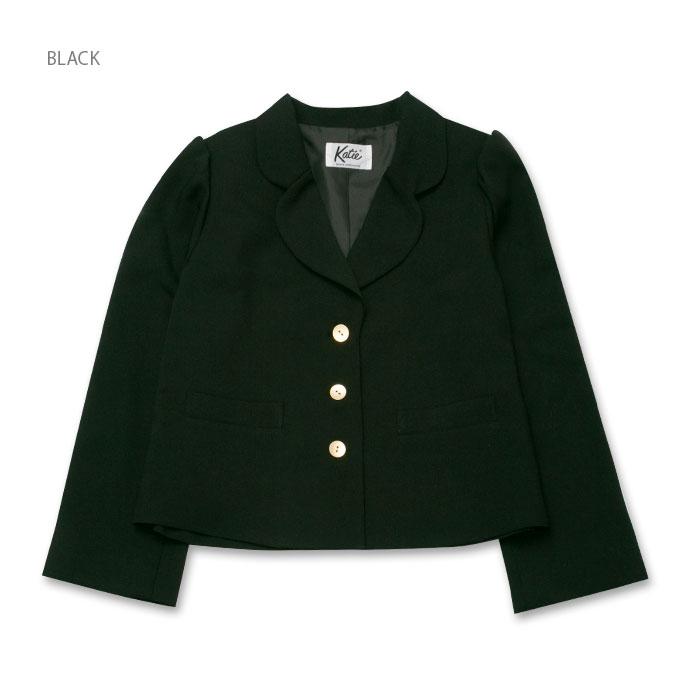 Katie(ケイティ) MANOR HOUSE tailored jacket BLACK
