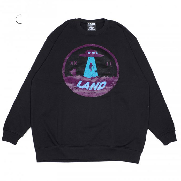 LAND by MILKBOY(ランドバイミルクボーイ) ABDUCTION SWEATS