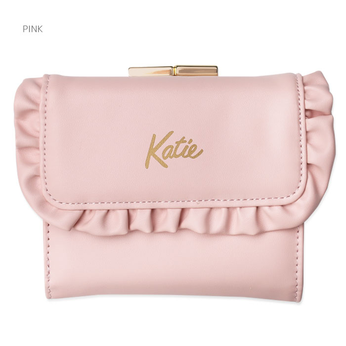 Katie(ケイティ) FRILL compact wallet