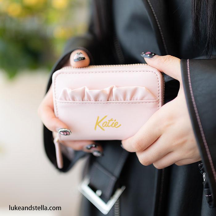 Katie(ケイティ) FRILL card case