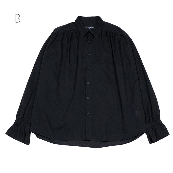 MILKBOY(ミルクボーイ) ギャザードシャツ