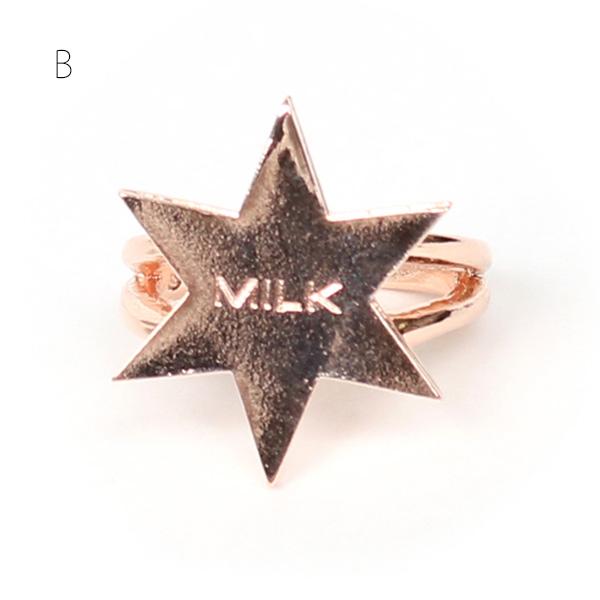 MILK(ミルク) アスタリスク リング