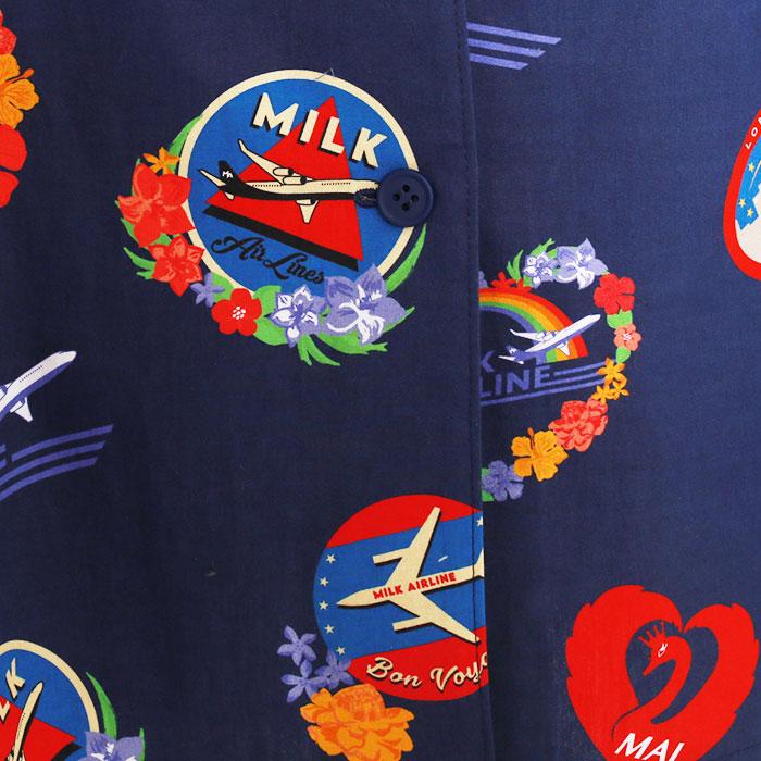 【予約】MILK(ミルク) SUMMER 2021 AIRLINE シャツ ワンピース