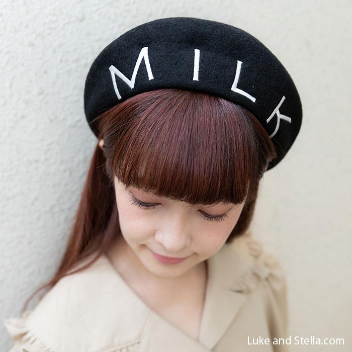 MILK(ミルク) BIG ロゴベレー