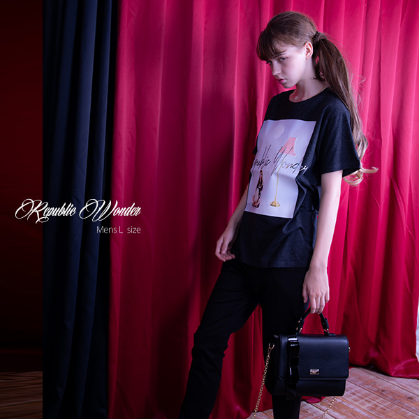 REPUBLIC WONDER(リパブリックワンダー) IRRINA LAMP TEE