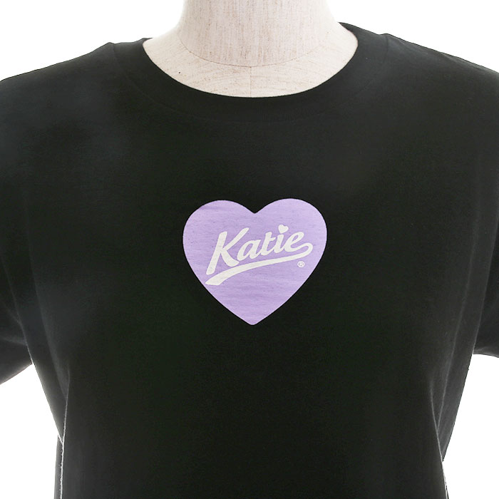 Katie(ケイティ) HEART LOGO tee
