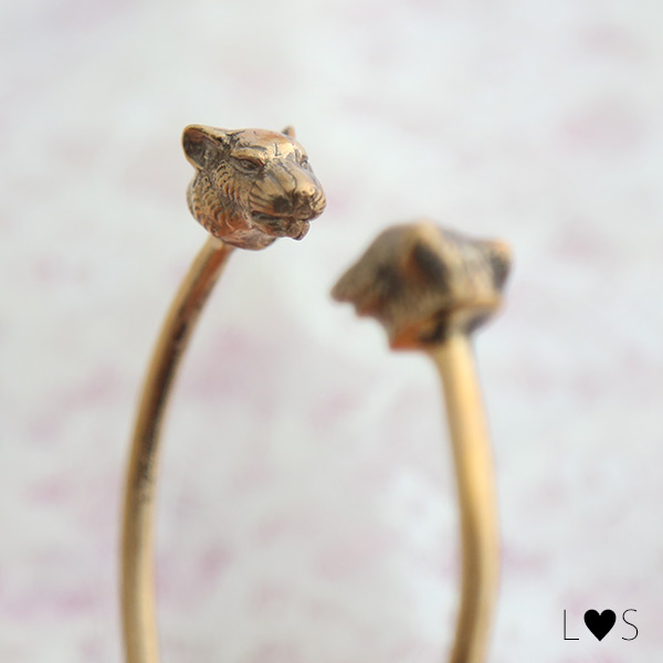 Krista Kretzschmar(クリスタ クレッチマル) 'Lynx and lion bracelet リンクスとライオンブレスレット