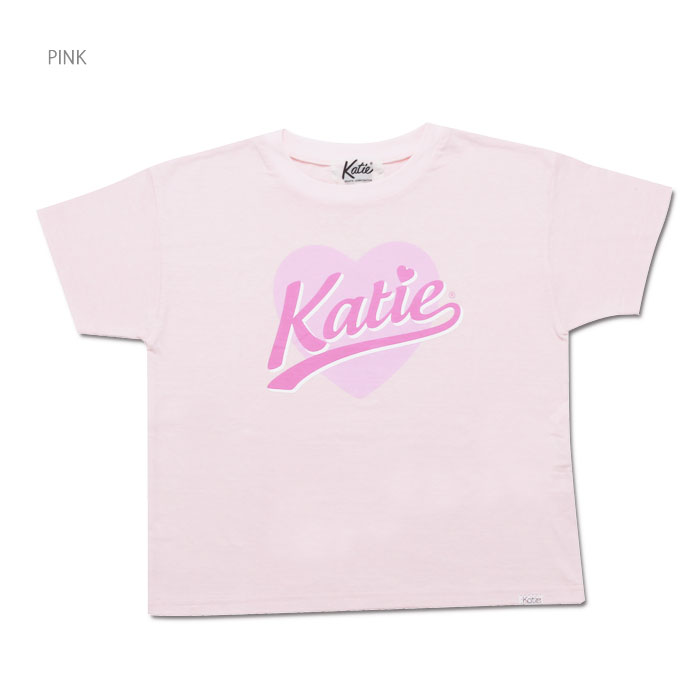 Katie(ケイティ) BIG HEART LOGO tee