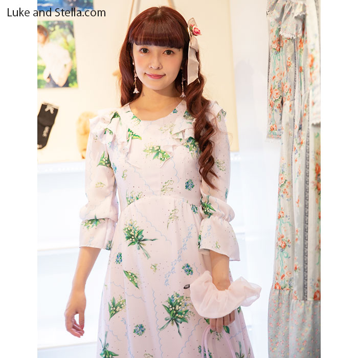 MILK(ミルク) Lily bell long Dress