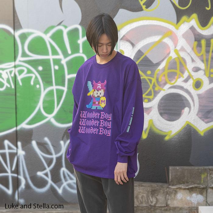 【予約】MILKBOY(ミルクボーイ)×REPUBLIC WONDER(リパブリックワンダー) Wonder Boy L.S. Tee【ルーク限定】