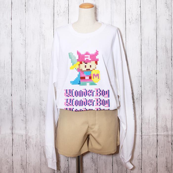 【ルーク限定】MILKBOY(ミルクボーイ)×REPUBLIC WONDER(リパブリックワンダー) Wonder Boy L.S. Tee
