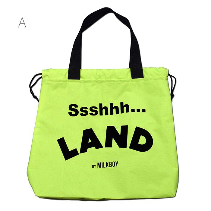 LAND by MILKBOY(ランドバイミルクボーイ) BIG NEON BAG