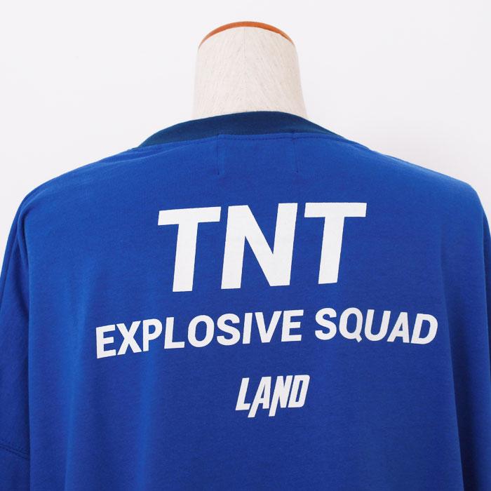 LAND by MILKBOY(ランドバイミルクボーイ) TNT ロンTEE