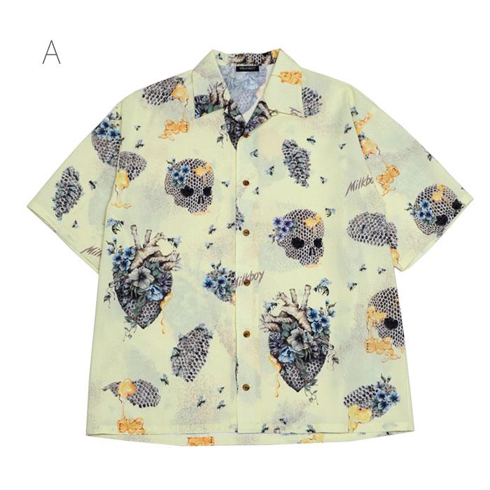 【予約】MILKBOY(ミルクボーイ) SUMMER 2021 HONEYED シャツ