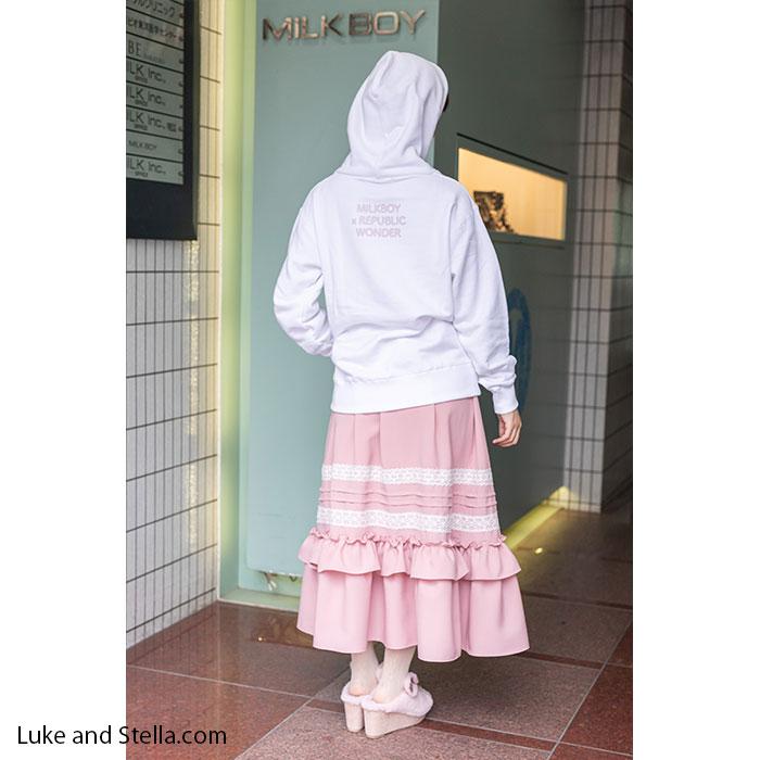 【ルーク限定】MILKBOY(ミルクボーイ)×REPUBLIC WONDER(リパブリックワンダー) リパプードル HOODIE