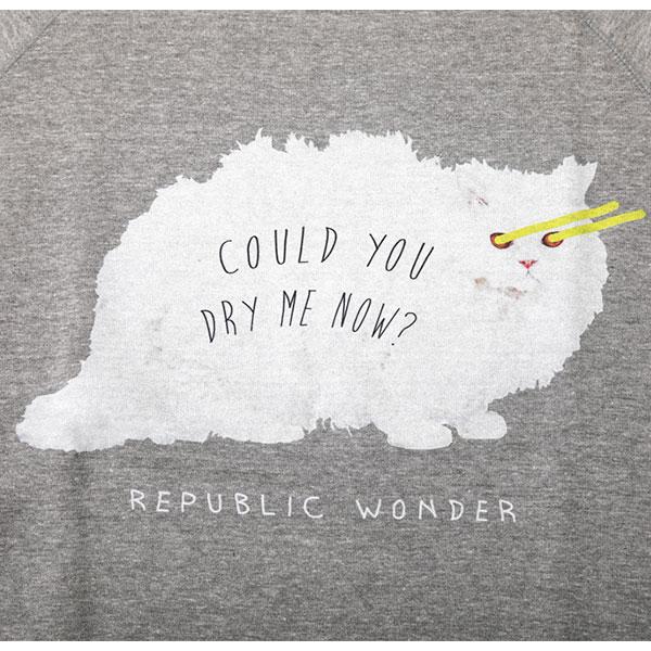 REPUBLIC WONDER(リパブリックワンダー) DRY ME NOW トレーナー
