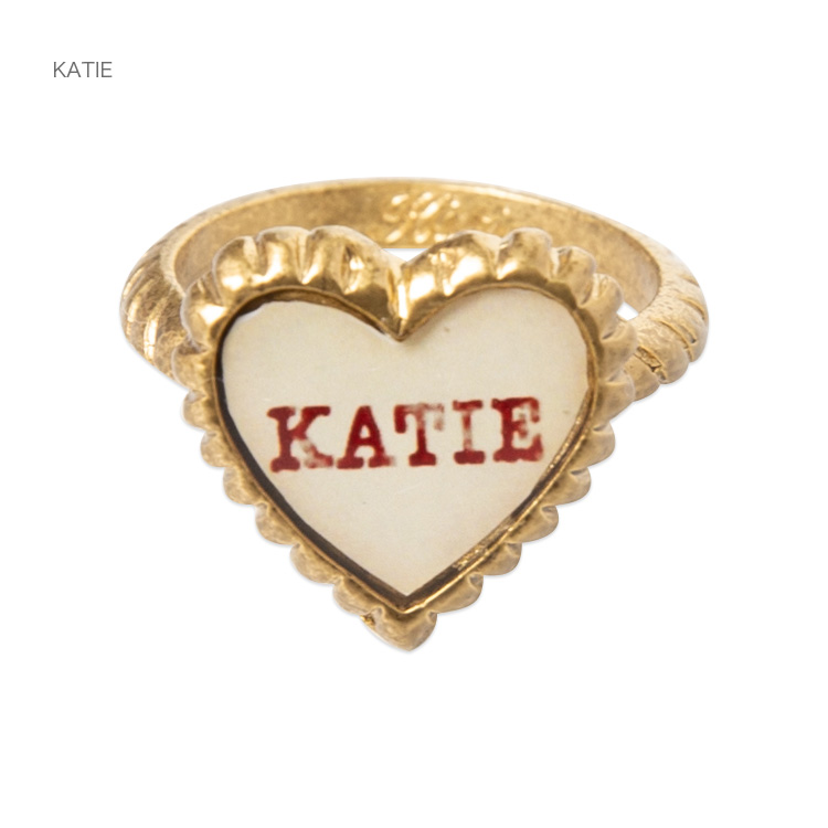 Katie(ケイティ) SWEET HEART petit heart ring