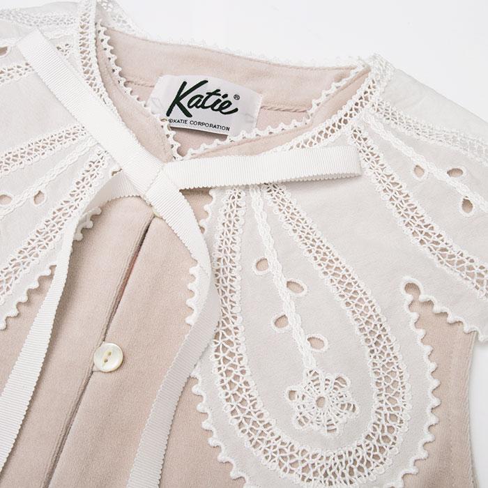 Katie(ケイティ) TEA & CAKE vest