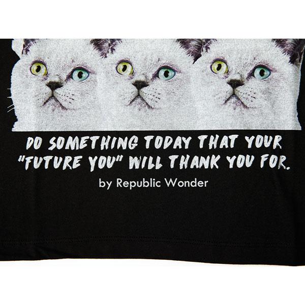 REPUBLIC WONDER(リパブリックワンダー)  MANY CATS スリーヴレスワイドTEE