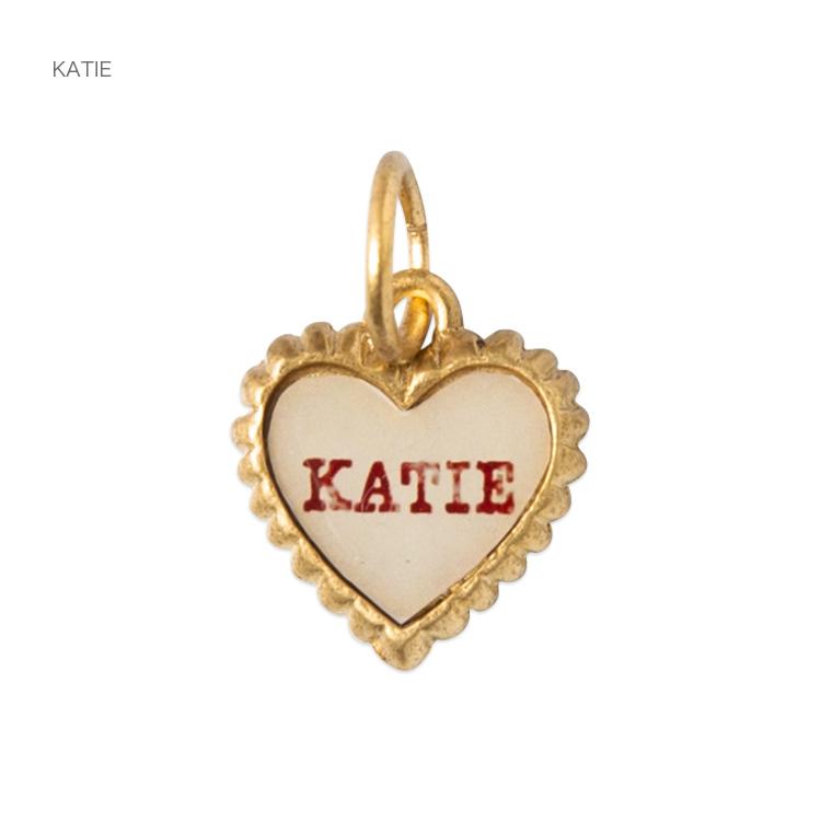 Katie(ケイティ) SWEET HEART petit heart charm