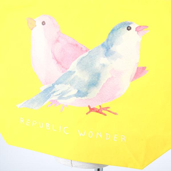 REPUBLIC WONDER(リパブリックワンダー) BIRDS BIG TOTE