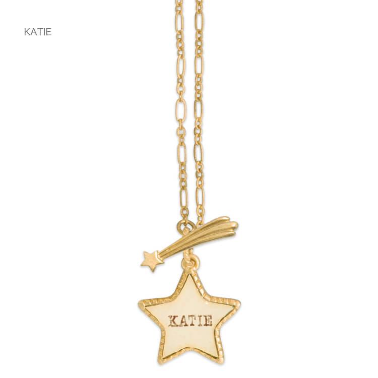 Katie(ケイティ) TWINKLE STAR necklace